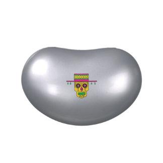 Cráneo adaptable del azúcar del gaucho frascos de dulces