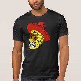 Cráneo adornado del caramelo camiseta
