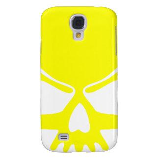 Cráneo amarillo funda samsung s4