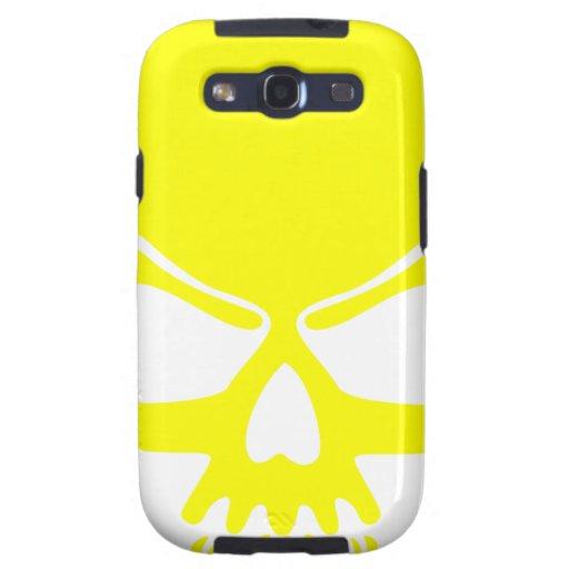 Cráneo amarillo galaxy s3 cobertura