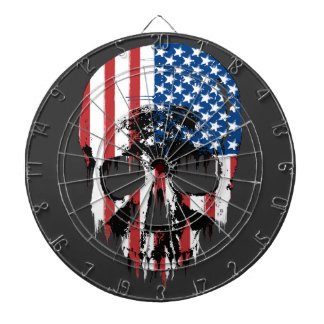 Cráneo americano tabla dardos