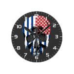 Cráneo americano inverso relojes