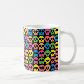 Cráneo amistoso taza de café