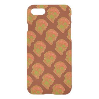 CRÁNEO - anaranjado/amarillo 2 Funda Para iPhone 7