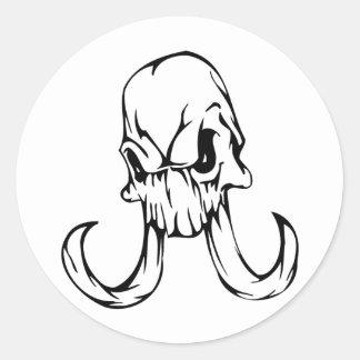 Cráneo animal pegatina