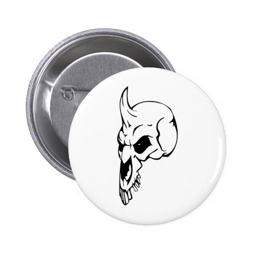 Cráneo animal pins
