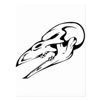 Cráneo animal tarjetas postales