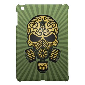 Cráneo apocalíptico del azúcar del poste, verde ca iPad mini cárcasa