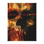 Cráneo asustadizo de Halloween Impresion En Lona