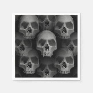 Cráneo asustadizo del fiesta el | de Halloween Servilletas De Papel