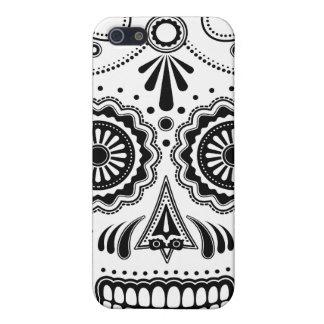 Cráneo azteca urbano del azúcar iPhone 5 funda