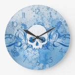 Cráneo azul sucio relojes