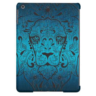 Cráneo azulverde y negro metálico del azúcar del carcasa iPad air