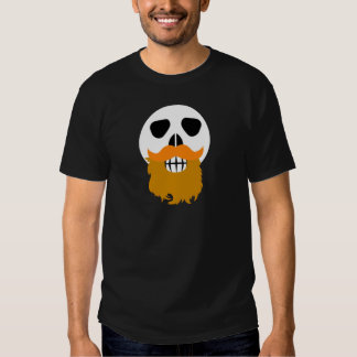 Cráneo barbudo playera