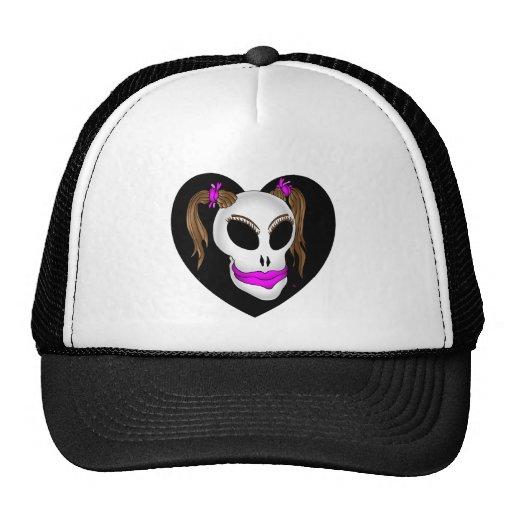 cráneo beauty-1 gorras