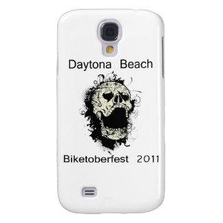 Cráneo Biketoberfest 2011 de Daytona Beach Funda Para Galaxy S4