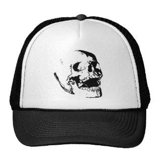Cráneo blanco negro gorras