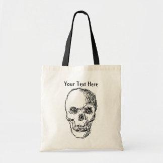 Cráneo Bolsa Tela Barata