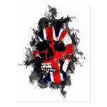 cráneo británico postales