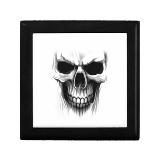 Cráneo Caja De Regalo