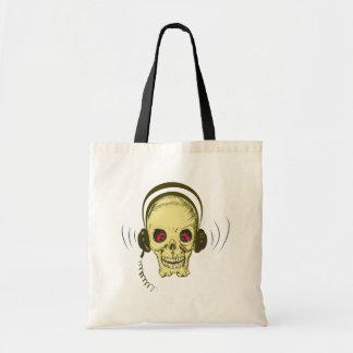 Cráneo calavera auricular skull earphones