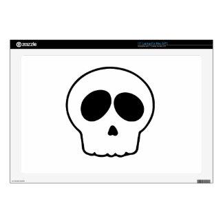 Cráneo Calcomanía Para 43,2cm Portátil