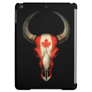 Cráneo canadiense de Bull de la bandera