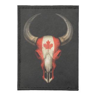 Cráneo canadiense de Bull de la bandera Tarjeteros Tyvek®