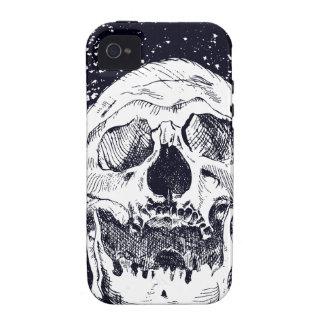 Cráneo caso del iPhone 4 iPhone 4/4S Funda