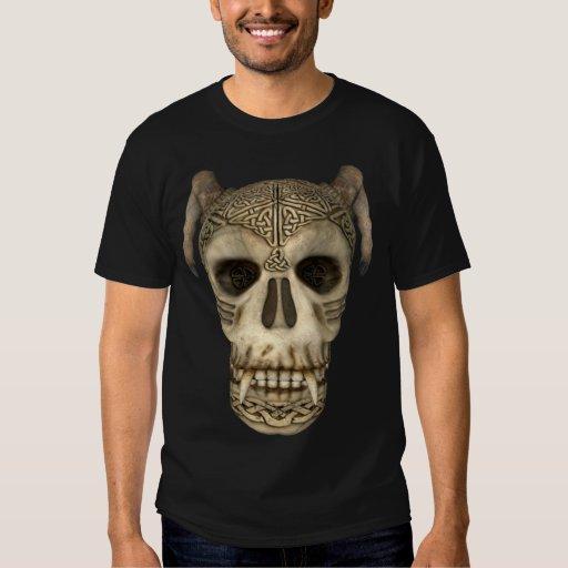 Cráneo céltico antiguo del KRW Playeras
