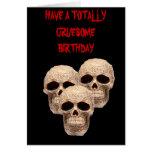 cráneo céltico tarjetas