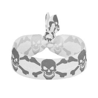 Cráneo clásico de la bandera pirata del pirata bandas para cabello