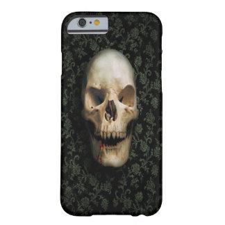 cráneo clásico funda para iPhone 6 barely there
