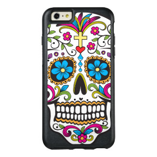Cráneo colorido del caramelo funda otterbox para iPhone 6/6s plus