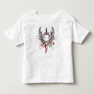 Cráneo con las alas tee shirts