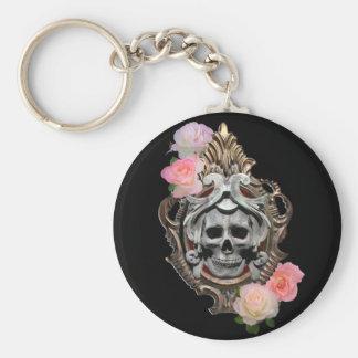 Cráneo con llavero de los rosas