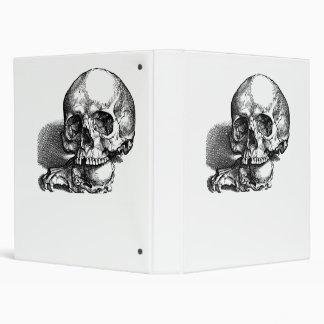 Cráneo con quijadas flojas, idea de Halloween