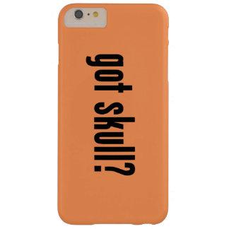 ¿cráneo conseguido? funda barely there iPhone 6 plus