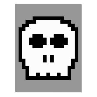 Cráneo de 8 bits retro