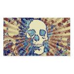 cráneo de alta fidelidad tarjetas de visita