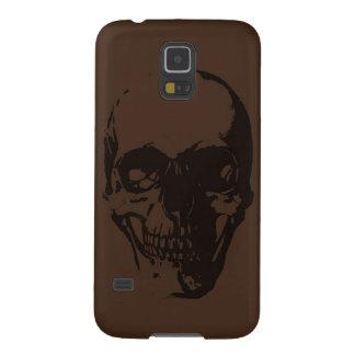 Cráneo de Brown Fundas De Galaxy S5