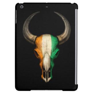 Cráneo de Bull de la bandera de Costa de Marfil
