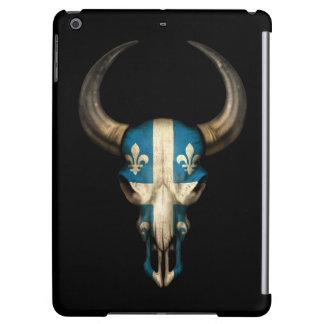 Cráneo de Bull de la bandera de Quebec