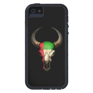Cráneo de Bull de la bandera de United Arab Emirat iPhone 5 Case-Mate Fundas
