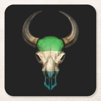 Cráneo de Bull de la bandera del Sierra Leone