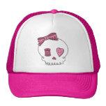 Cráneo de costura (rosa) gorra