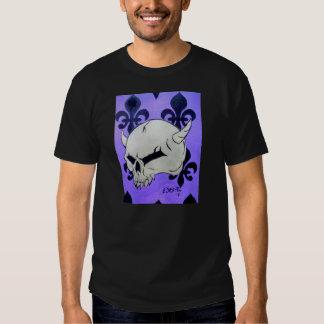 cráneo de cuernos camisas