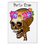 Cráneo de Dia de Los Muertos Party