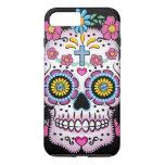 Cráneo de Dia de los Muertos Sugar Funda iPhone 7 Plus