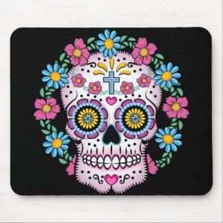 Cráneo de Dia de los Muertos Sugar Tapetes De Raton